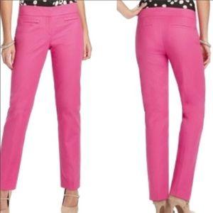 Ann Taylor LOFT Hot Pink Ankle Pants